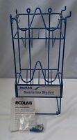 Ecolab Wire Caravan Rack / Sanitation Station For Cleaning/bathroom Supplies