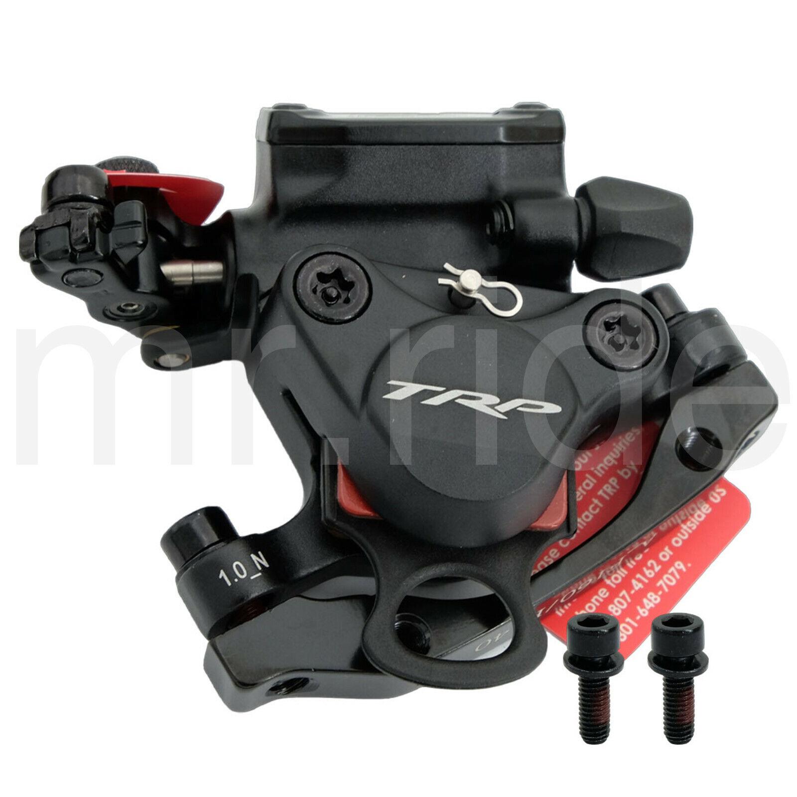TRP HYRD cavoad azionamento idraulico freno a disco Nero con Adattatore F160R140mm IS