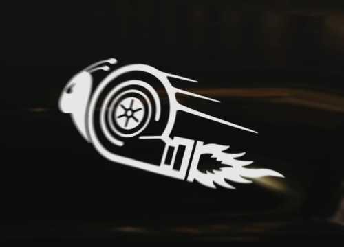 TURBO SNAIL Style 7 Diesel Vinyl Graphic Decal Car Bumper Sticker