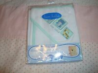Adorably Precious Hooded Towel & Washcloth..new...5.99