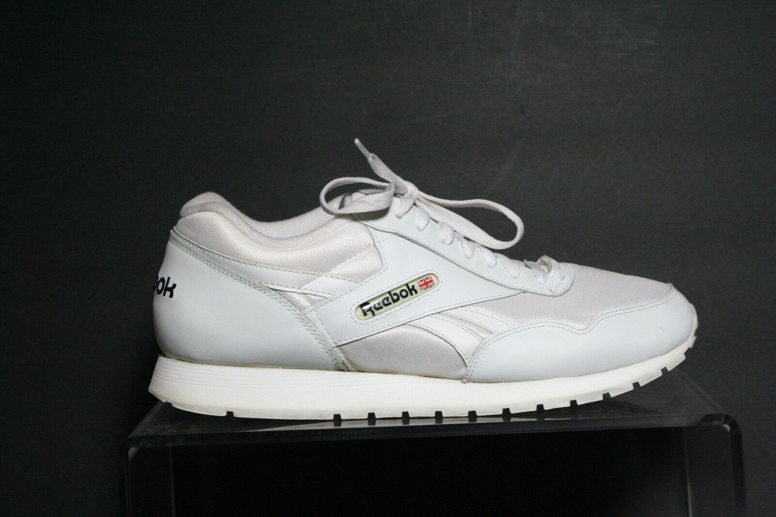 Reebok Vintage 90's Sneaker Athletic Retro Hip Leather Nylon Women 11 Running