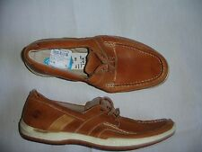 Timberland Men Boot Shoe Size 13 W M New Casual Shoes Brown Leather Boat