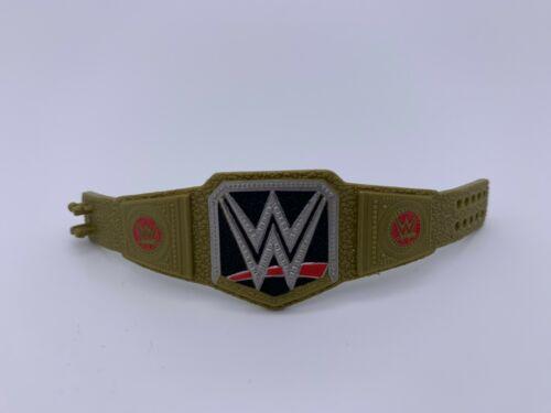 WWE Mattel Champion Caoutchouc or Chase titre Accessoire