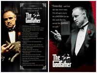 The Godfather Don Vito 2 Individual Posters Everything I Know Someday Quotes