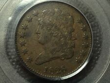 Pcgs Xf-45 1826 Half Cent Tough Date Low 234K Mintage Nice Coin