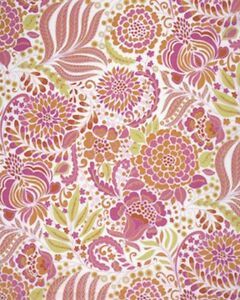 Dena Designs PWDF115 London Devon Pink Fabric By Yard
