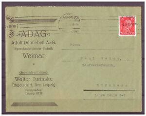 Deutsches-Reich-MiNr-391-EF-Leipzig-Messestadt-03-09-1928