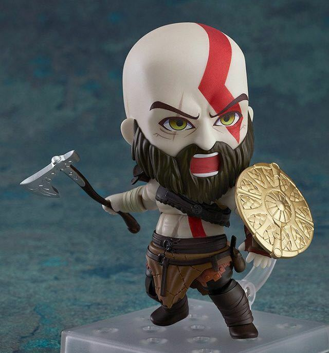 God Of War (2018) Nendgoldid Action Figure Kratos 10 cm