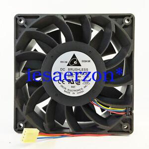for-DELTA-TFC1212DE-120-120-38MM-12V-3-9A-12CM-4Pin-Cooling-Fan