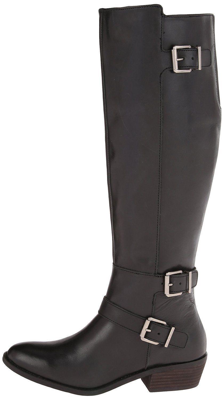 170 Urban Outfitters DV Dolce Dolce DV Vita Cambridge Nero Tall Pelle Riding Boot 6.5 556676