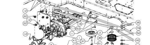 Yard-Man J5250 K verstärkt Keilriemen Fahrantrieb Black Edition 247-105 Twin H