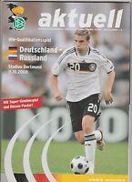 Orig.PRG   WM Qualifikation  11.10.2008   DEUTSCHLAND - RUSSLAND  !!  SELTEN
