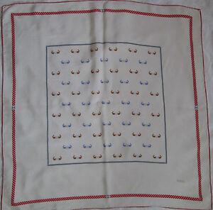 Superbe Foulard GUCCI 100% soie TBEG vintage scarf   eBay b7d4c4b76f9