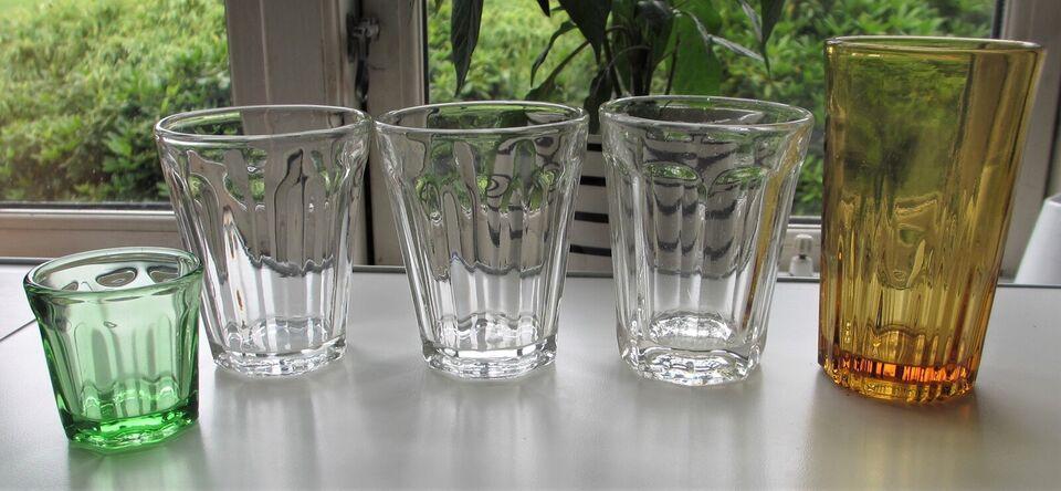 Glas, Fyens Glasværk 1924, 5 stk.