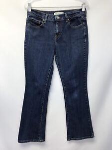 Levis-515-Jeans-Womens-Size-6-Short-Boot-Cut-Blue-Denim