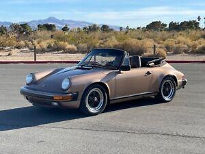 1987-Porsche-911-Porsche-911-convertible-rare-G50-brown