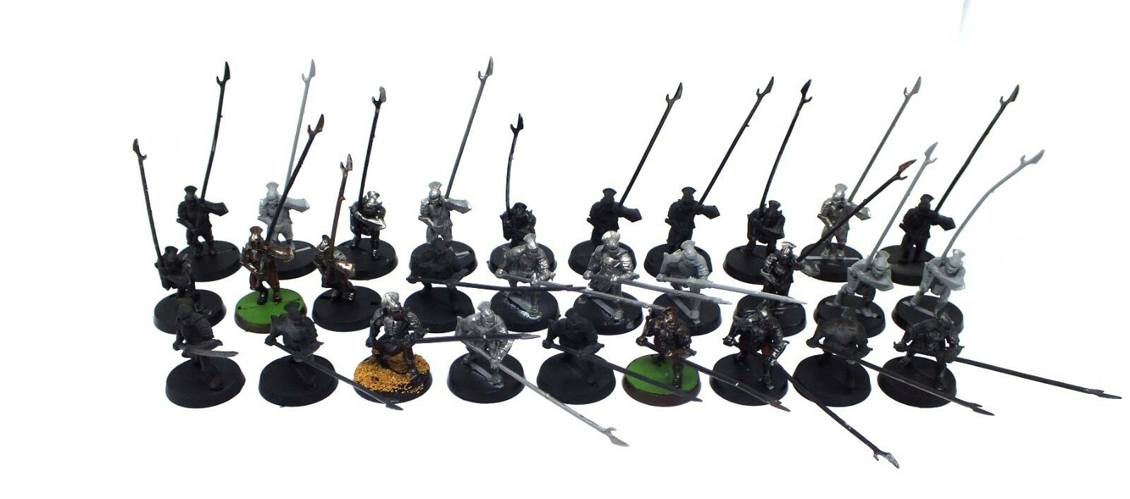 The Lord  of the Rings - Uruk-hai warriors - 28mm (29 pz)  l'ultimo