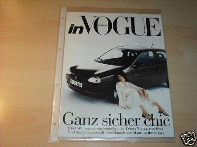 10569) Opel Corsa B Voque Prospekt 199?