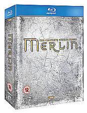 Merlin - Series 4 - Complete (Blu-ray, 2012, 5-Disc Set)