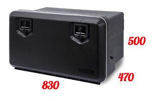 daken 800 coffre a outils 119l bo te de rangement camions bo te outils ebay. Black Bedroom Furniture Sets. Home Design Ideas