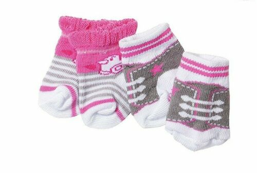 Baby Born Dolls Socks Pack of 2 pairs Zapf Creation Dolls Clothes 823576