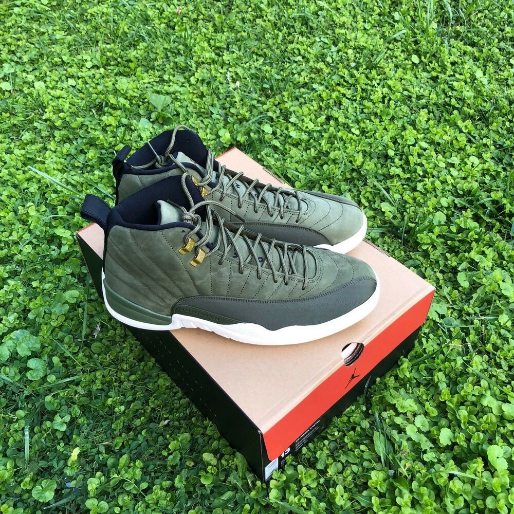 Nike Air Jordan 12 Retro Chris Paul Class Of 2003 CP3 PE Olive Canvas 130690-301