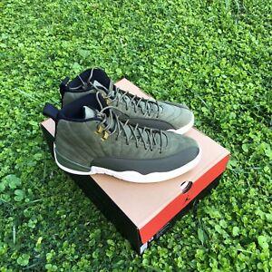 122d718c873 Nike Air Jordan 12 Retro Chris Paul Class Of 2003 CP3 PE Olive ...