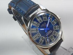 Vintage-Mechanical-Hand-Winding-Movement-Mens-Analog-Wrist-Watch-A244