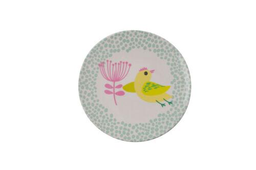Overbeck /& Friends Melamin Teller Poppy mini 15cm Picknick Ostern Küken Kinder