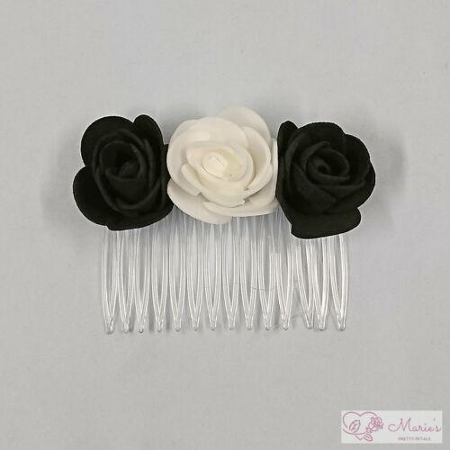 Wedding Flowers Bouquet Black Package Bride Bridesmaid Buttonholes Corsage