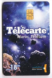 AFRIQUE TELECARTE - PHONECARD .. MAROC 18DHS MT ESPACE V° CARTES 01-04 CHIP-PUCE YJbj8EDp-09092219-546150512