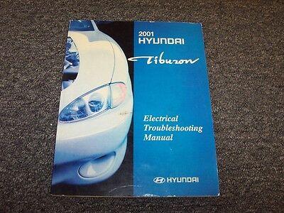 2001 Hyundai Tiburon Coupe Electrical Wiring Diagram ...