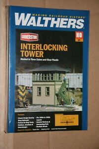 WALTHERS-933-3071-INTERLOCKING-TOWER-BUILDING-KIT-NEW