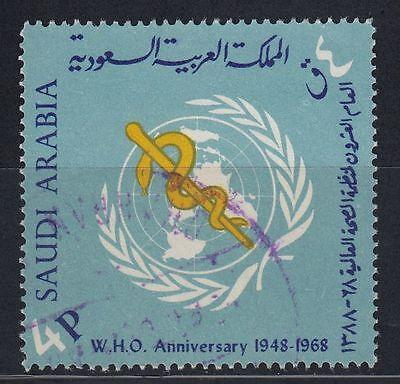 Mittlerer Osten Aus Dem Ausland Importiert Saudi Arabia 1969 Mi.477 Ksa Gesundheit Health Who Medizin Medicine Briefmarken g1326