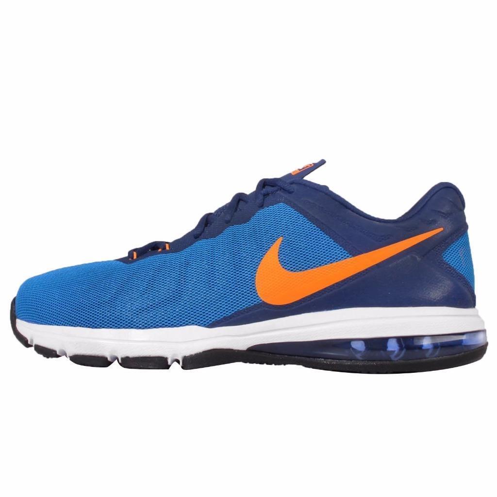NEW Mens Nike Air Max Full Ride TR Training shoes bluee orange 819004-400 Sz 11.5