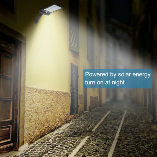 Solarleuchte LED Solar Lampe mit Bewegungsmelder Wandleuchte Garten Fluter