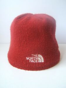 ecadf0ed514 Image is loading The-North-Face-Winter-Hat-Burgundy-Toque-Beanie-