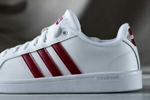 bbb2a8d8ac Details about ADIDAS NEO ADVANTAGE leather shoes for women, NEW &  AUTHENTIC, US size 9