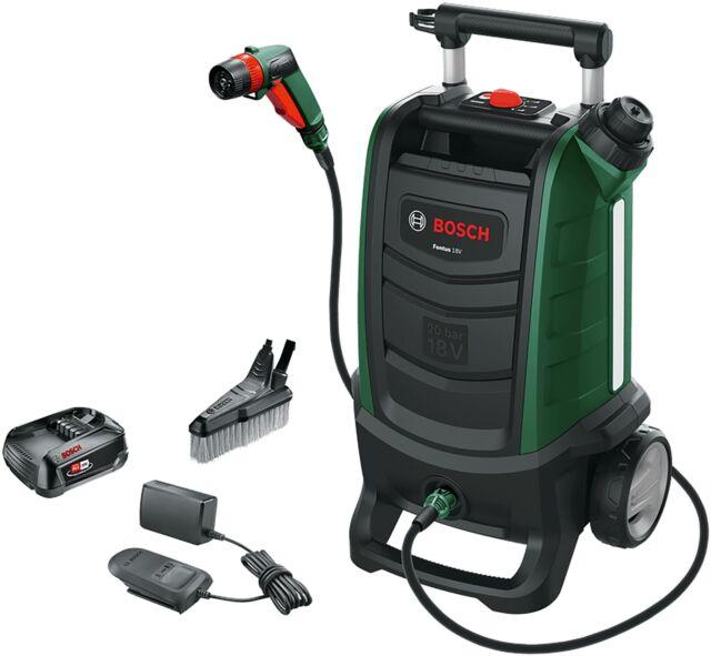 BOSCH Fontus 18V Akku-Outdoor Cleaner Reiniger 2,5 Ah 20 bar schwarz/grün
