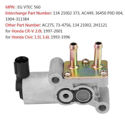 OEM 97-01 Genuine For Honda 2.0 CR-V;93-96 CIVIC IACV idle air control valve New
