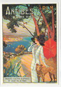 CP Poster Chemins Iron Condition P. L.M.Antibes Edit Clouet 10238