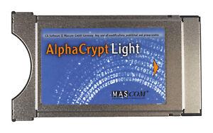 Mascom Alphacrypt Light CI CI+ Modul R2.2 Einsatzbereit One4All V15 V14 V13 HD+
