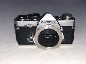 Olympus OM-2 HS Pour Pièces Ok En Auto Et En Manuel Cellule HS