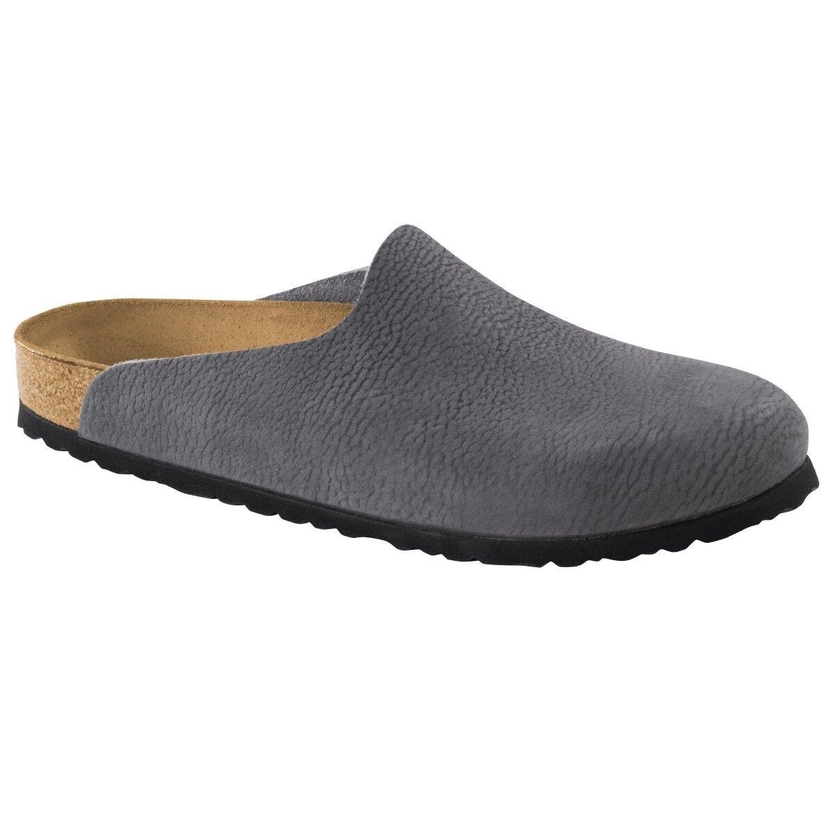 Birkenstock Amsterdam Nubukleder Clogs 1006717 Schuhe Pantolette Weite normal 1006717 Clogs 37d3d3
