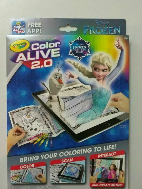 Crayola Color Alive 2.0 Interactive Coloring Book Disney Zombies For Sale  Online EBay