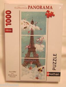 Nathan 87612 - Paris Eiffel Tower #2 - 1000 Pieces - Ships From USA!