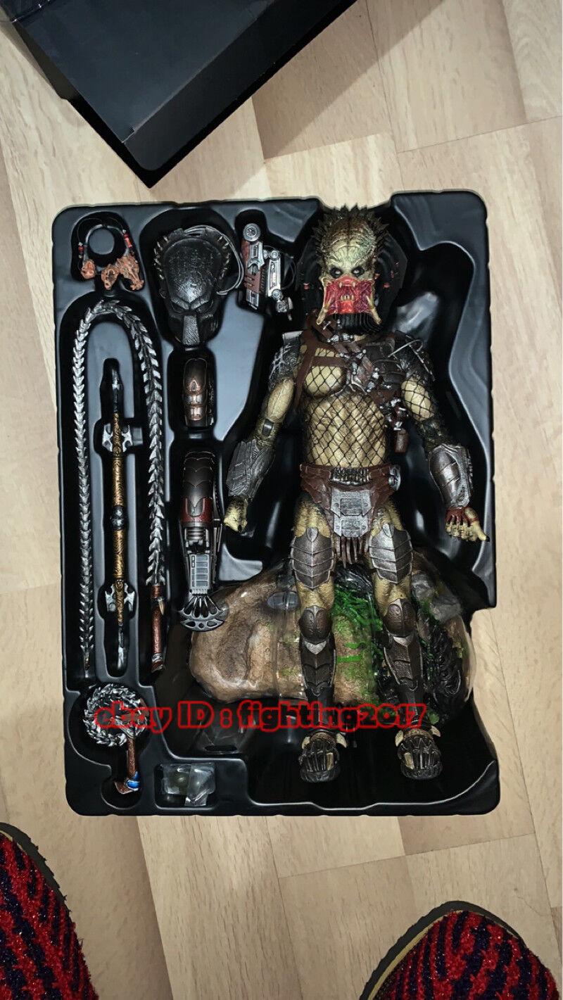 NEW NEW NEW Hot Toys MMS 443 Aliens vs Predator AVP Requiem Wolf Predator Heavy Weapon 4576b0
