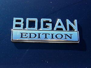 BOGAN-EDITION-CAR-BADGE-Chrome-Metal-Emblem-NEW-amp-UNIQUE-suit-HOLDEN-etc