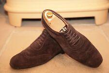 J M Weston Hommes Marron Daim Chaussures Pointure UK 8.5