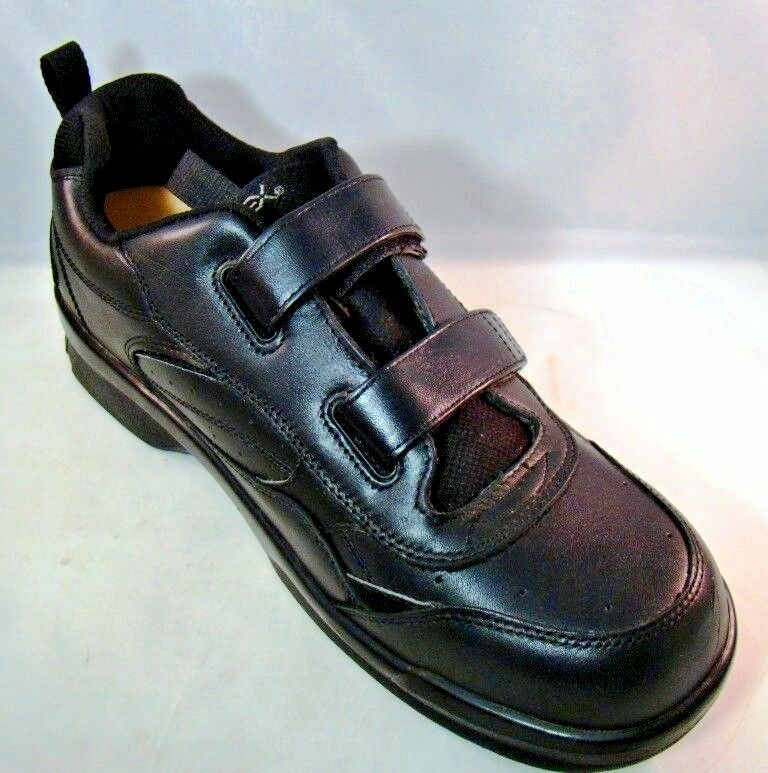 APEX Ambulator Mens shoes Therapeutic Athletic Wide US 12.5 12.5 12.5 Black Double Strap 90f108